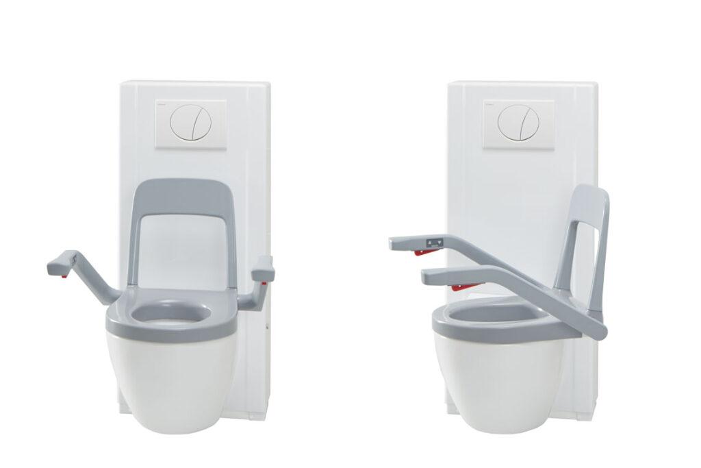 Bild på den vridbara toaletten Bano.
